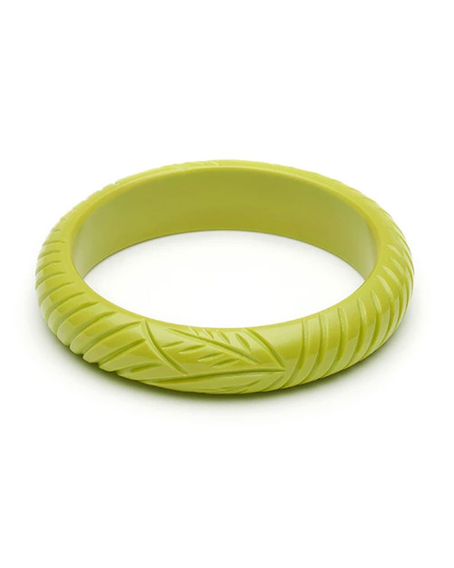 Splendette Retro Midi Chartreuse Fakelite Bangle