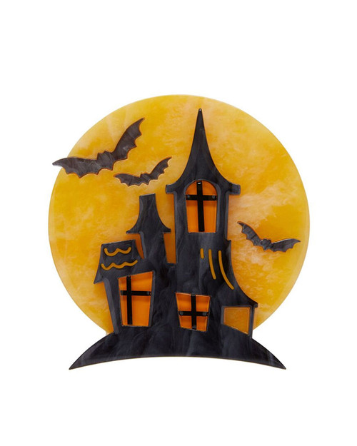 Erstwilder On Haunted Hill Brooch