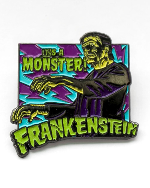Rock Rebel It's A Monster! Frankenstein Enamel Pin