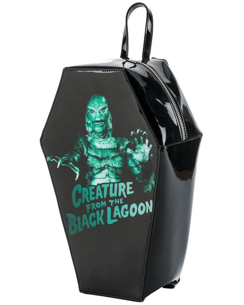 Rock Rebel Creature From The Black Lagoon Coffin Mini Backpack