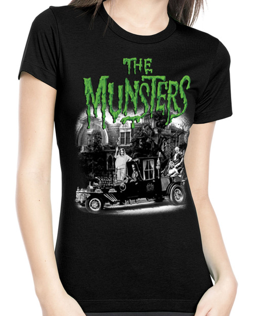 Rock Rebel The Munster's Family Coach Graphic Tee