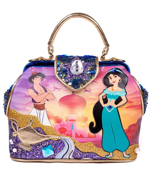 Irregular Choice x Disney's Aladdin A Whole New World Bag