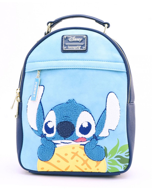 Loungefly x Disney's Stitch Yummy Mini Backpack