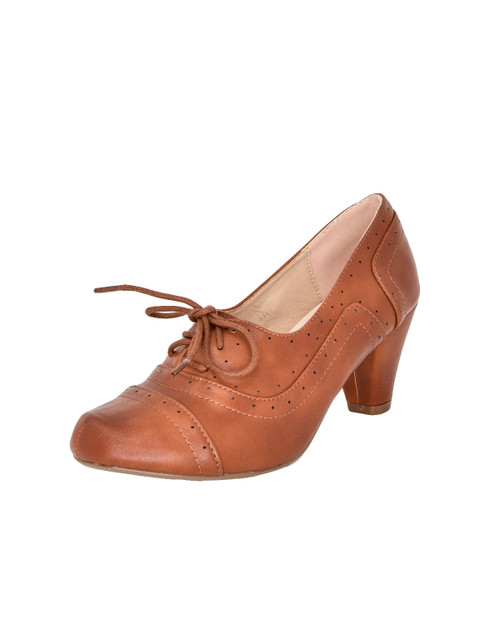 Dolce Nome Abbi Oxford Lace Up Pumps