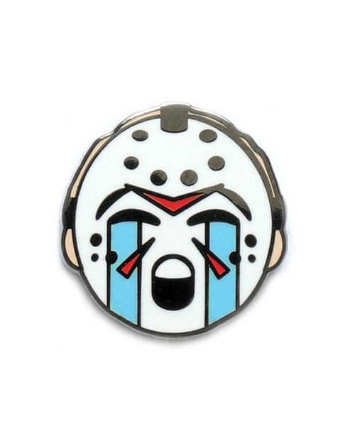 esterdays Co. Jason Horror Emoji Enamel Pin