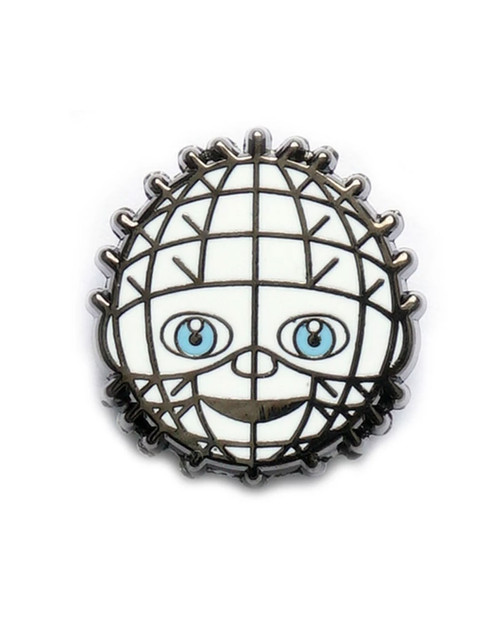 Yesterdays Co. Pinhead Horror Emoji Enamel Pin