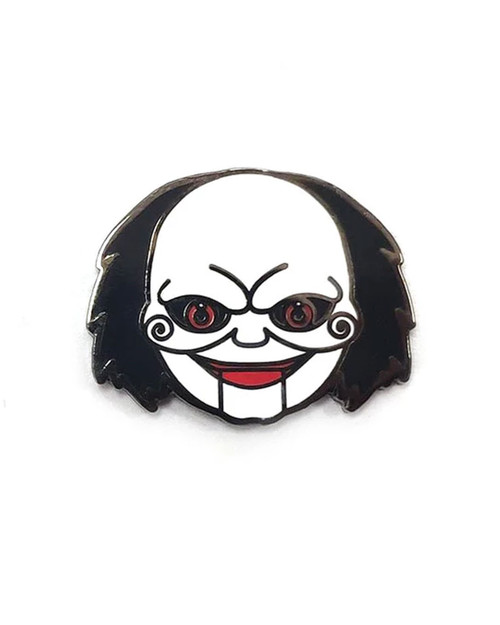 Yesterdays Co. Jigsaw Puppet Enamel Pin