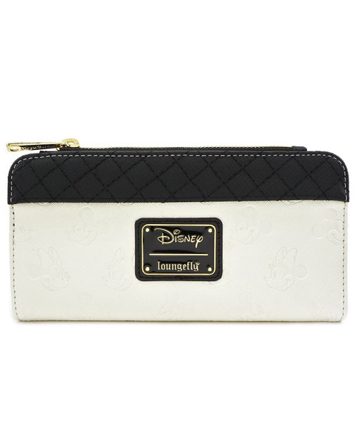 Loungefly x Disney's Mickey & Minnie Debossed Wallet