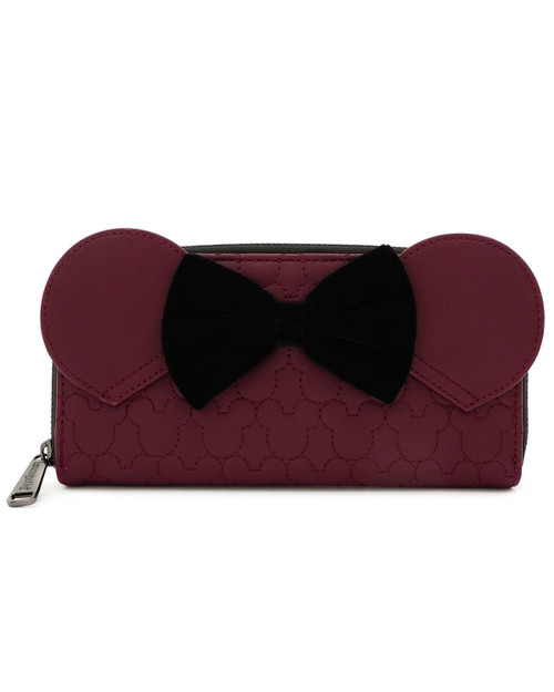 Loungefly x Disney's Minnie Mouse Quilted Wallet