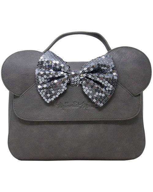 Loungefly x Disney's Minnie Mouse Sequin Bow Crossbody Bag