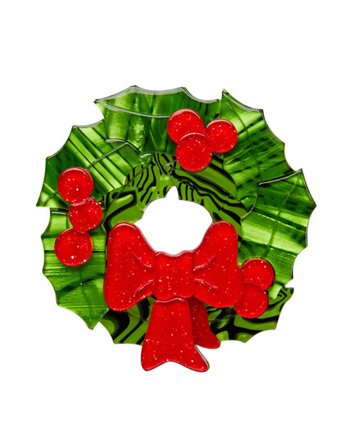 Erstwilder x A Very Kitschy Christmas Deck The Halls Brooch
