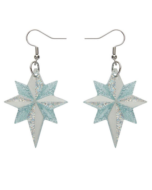 Erstwilder x All Wrapped Up Starlight, Star Bright Earrings