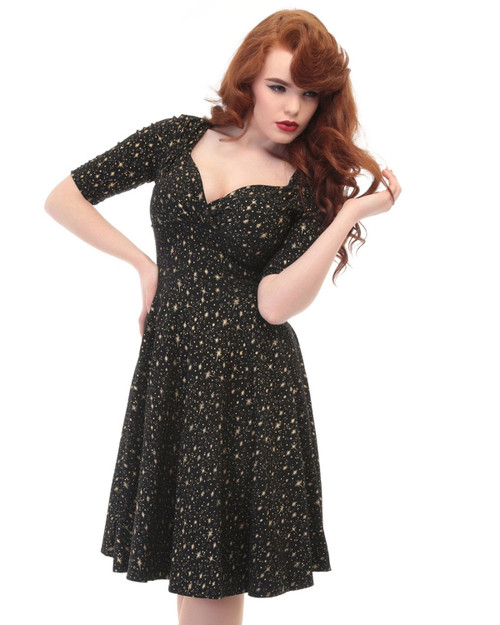 Collectif Trixie Atomic Star A-Line Dress
