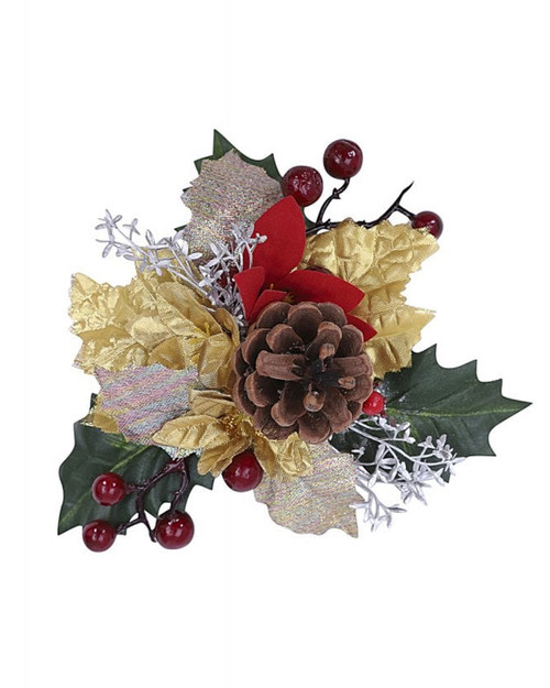 Collectif Doris Festive Holiday Hair Flower