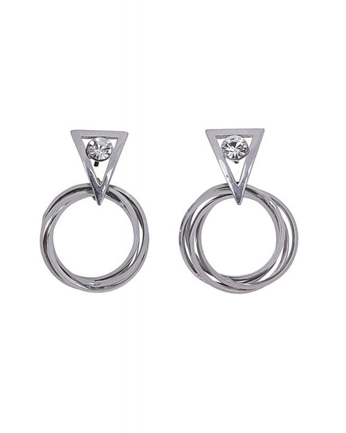 Collectif Judy Drop Hoop Earrings