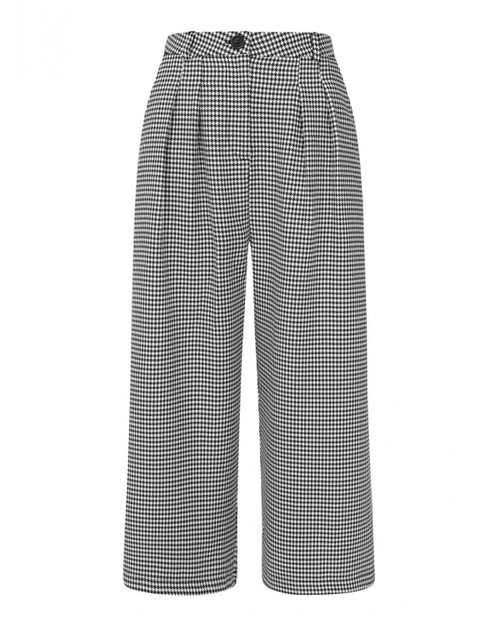 Hell Bunny Harvey Houndstooth Culottes