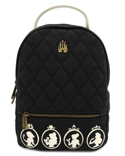 Loungefly x Disney Princess Cameo Quilted Mini Backpack