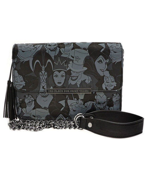 Loungefly x Disney Villains Tassel Crossbody Bag