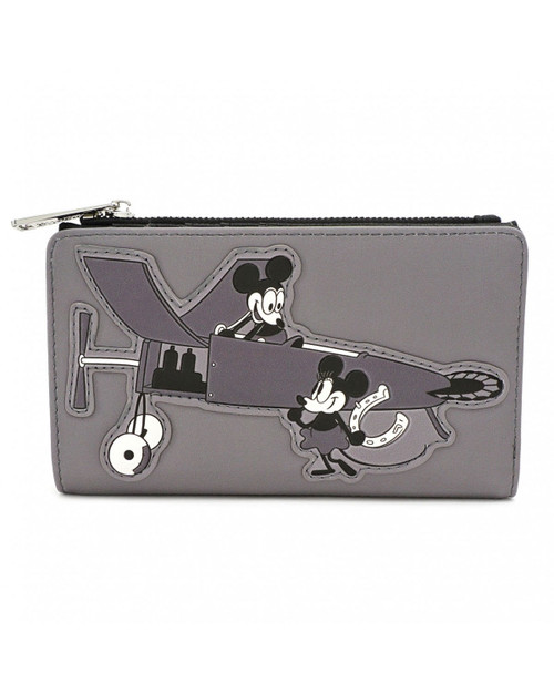 Loungefly x Disney's Mickey Mouse Classic Plane Crazy Wallet