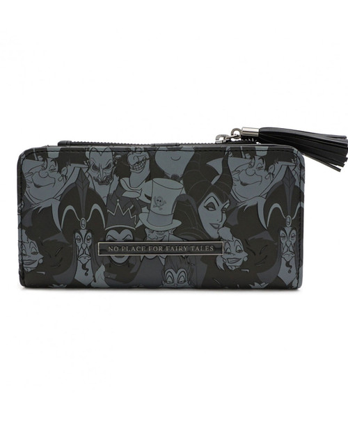 Loungefly x Disney Villains Tassel Wallet