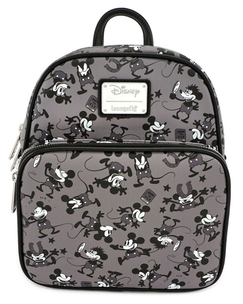 Loungefly x Disney's Mickey Mouse Classic Plane Crazy Mini Backpack