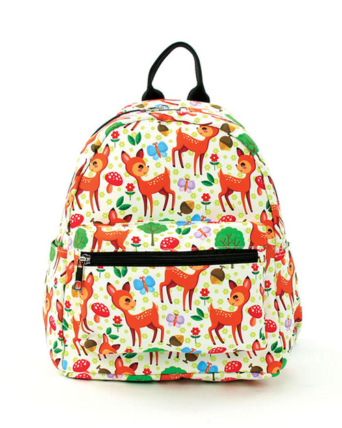 Forest Friends Deer Mini Backpack Front