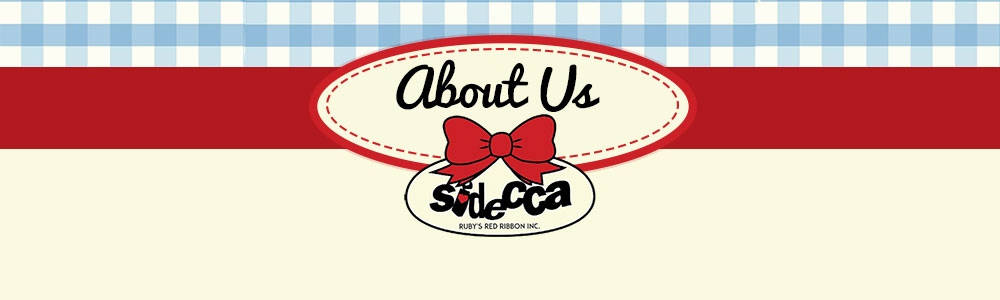 Sidecca logo with words about us