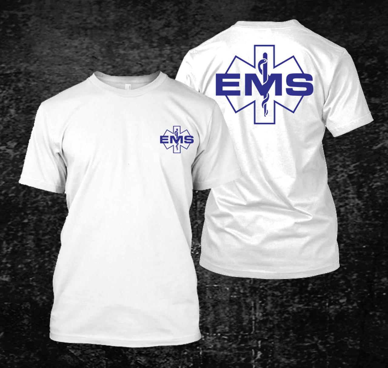 S bis XXL EMS Emergency Sanitäter Gr Herren T-Shirt