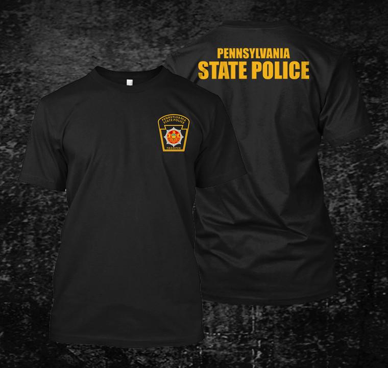 Pennsylvania State Police Black Shirt