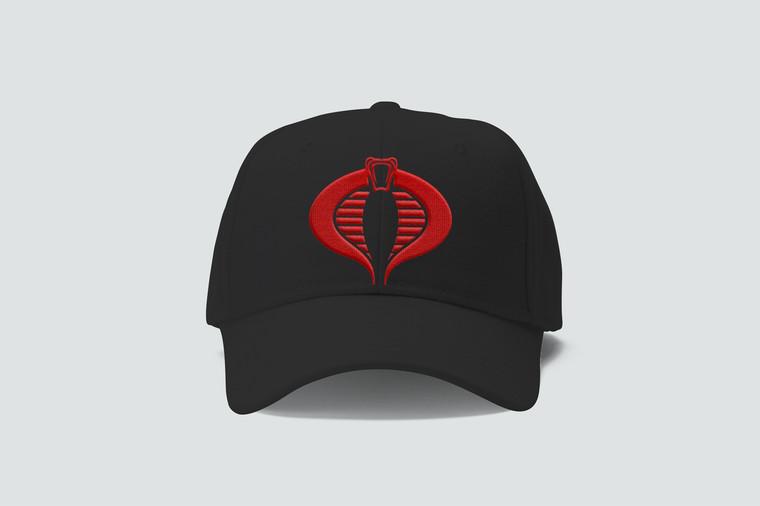 cobra Commander Hat black