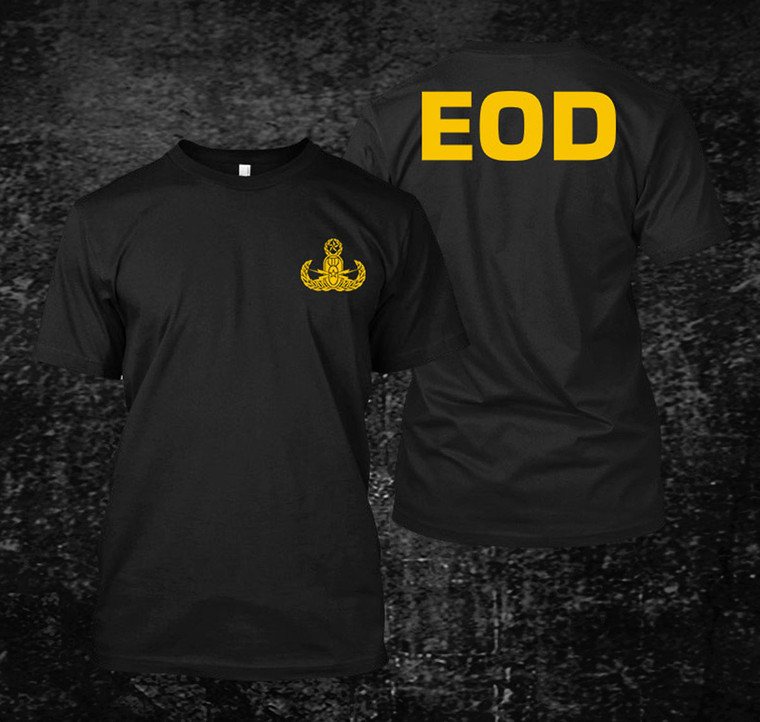 US Army EOD 2 Black t-shirt