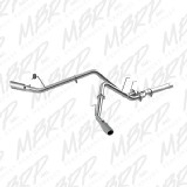 STAINLESS DPF BACK DUAL EXHAUST FOR 14-15 DODGE 3.0L ECODIESEL