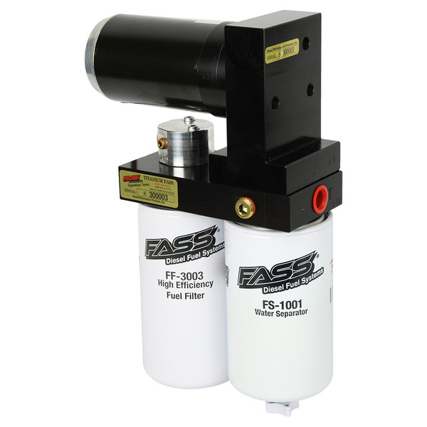 FASS TS C10 165G TITANIUM SIGNATURE SERIES 165GPH FUEL SYSTEM 2001-2010 GM 6.6L DURAMAX (MODERATE TO EXTREME)