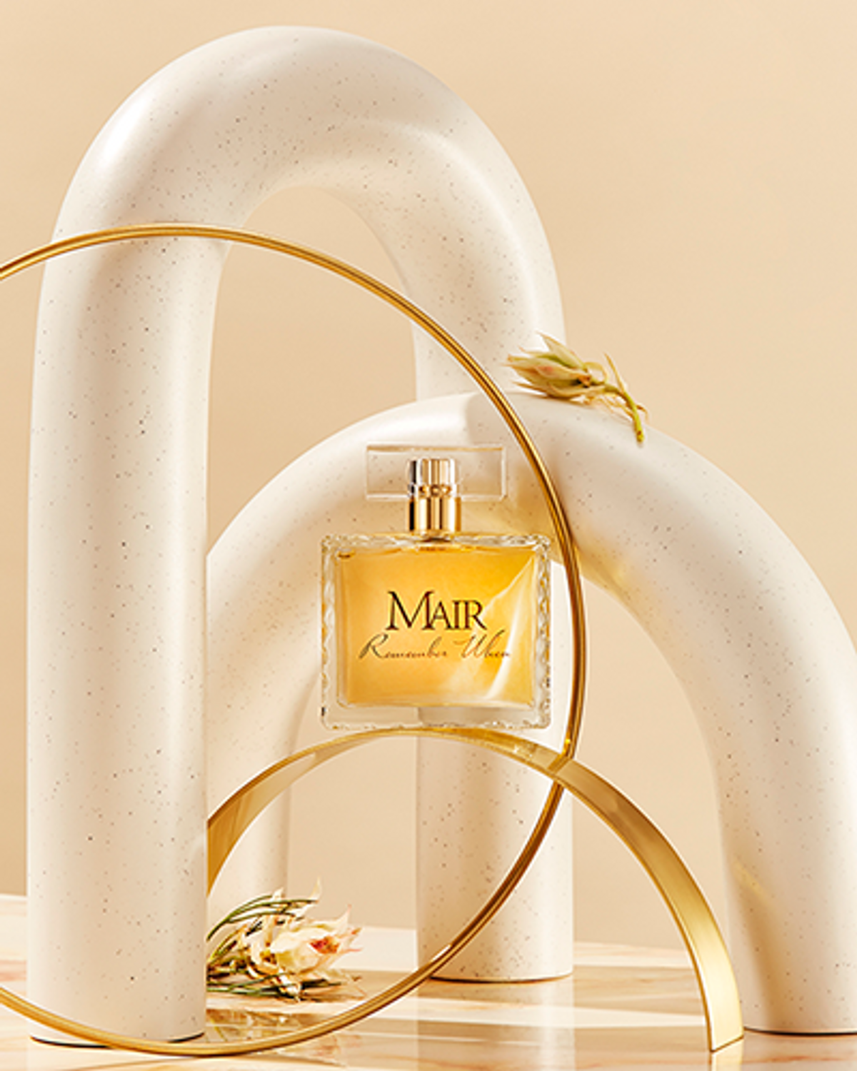 Remember When is the signature fragrance of the MAIR line.