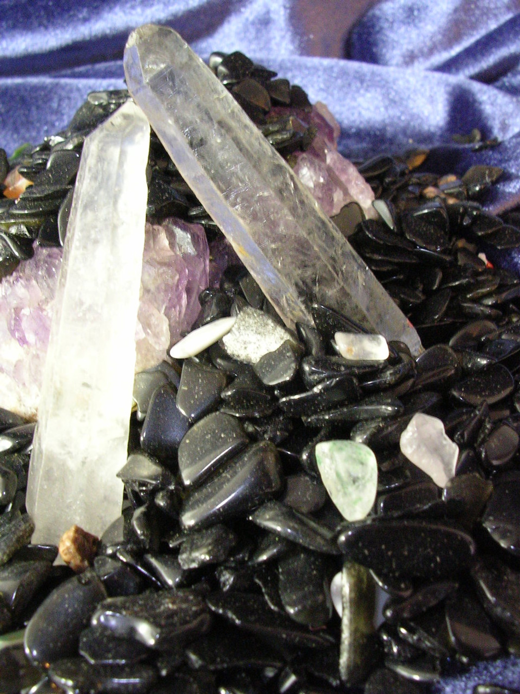 Obsidian Gemstone Spirit Offering Boosts Psychic Powers and Protects