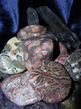 3 Leopard Skin Jasper Gemstones Connect to Animal Spirits and Guides
