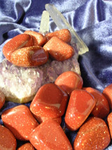 Three Goldstones for Spiritual Protection, Good Fortune and Abundance