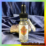 Fiery Wall of Protection Oil Keeps You Safe from Evil