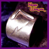 Lucky Number 7 Lightning Bolt Good Luck Ring for Wealth and Luxury