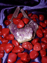 Three Red Jasper Gemstones for Personal Courage and Protection