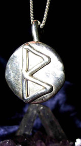 Berkano Rune Pendant for Renewal, Mental and Personal Growth