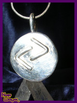 Jera Rune Pendant for Great Reward, Success, Joy and Celebration