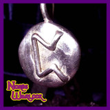 Pertho Rune Pendant for Esoteric Knowledge and Secrets, Viking