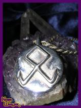 Othala, Odin's Rune, Spiritual Inheritance, Viking Pendant of Prosperity