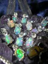 Enchanted Opal Wishing Pendants Grant Bright Blessings! Love Fame Money!
