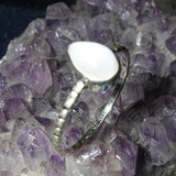 White Energy Power Ring Cleanses Your Aura and Balances Crown Chakra!