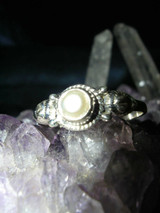 Aura Projection Ring Clears Psychic Blocks Surrounds You w White Magick