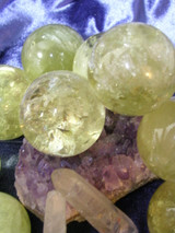 Solidified Sunshine! Citrine Gemstone Crystal Ball for Joy, Wealth, Direction!