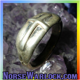 Knights of The Round Table Triple Cross Protection Ring! Merlin's Magick!