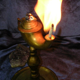 Conjurer's Lamp Calls Spirits! Binding Ring Puts Them at YOUR Command!
